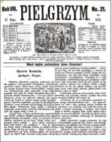 Pielgrzym, pismo religijne dla ludu 1875 nr 21