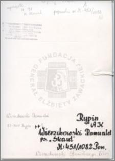 Wierzchowski Romuald