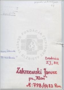 Zakrzewski Janusz