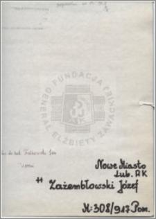 Zażembłowski Józef