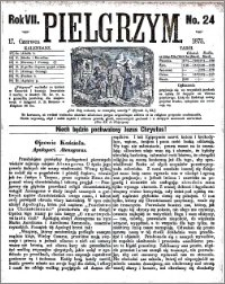 Pielgrzym, pismo religijne dla ludu 1875 nr 24