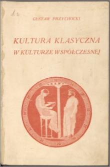 Kultura klasyczna w kulturze współczesnej