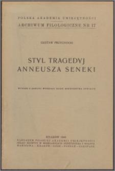 Styl tragedii Anneusza Seneki