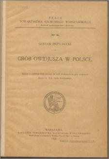 Grób Owidiusza w Polsce