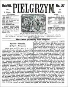 Pielgrzym, pismo religijne dla ludu 1875 nr 27