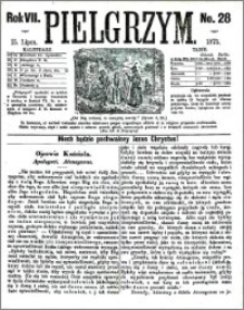 Pielgrzym, pismo religijne dla ludu 1875 nr 28