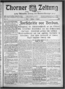 Thorner Zeitung 1916, Nr. 181 1 Blatt