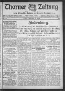 Thorner Zeitung 1916, Nr. 182 1 Blatt