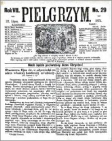 Pielgrzym, pismo religijne dla ludu 1875 nr 29