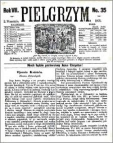 Pielgrzym, pismo religijne dla ludu 1875 nr 35