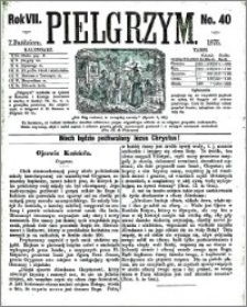 Pielgrzym, pismo religijne dla ludu 1875 nr 40