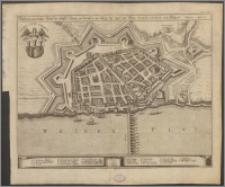 Wahrer Geometrischer Abrisß sder Statt Thorn in Preußen : wie selbige der Zeit mit Ihren Fortificationen vor augen Anno 1659
