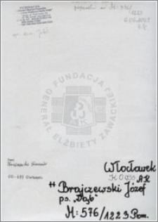 Brajczewski Józef