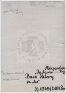 Buze Hilary
