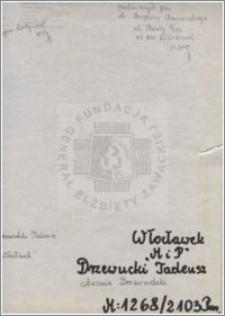 Drzewucki Tadeusz