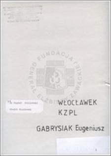 Gabrysiak Eugeniusz