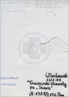Guzowski Wincenty