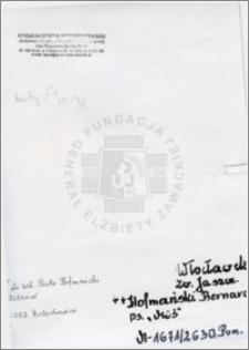 Hofmański Bernard