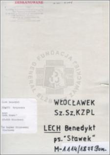 Lech Benedykt