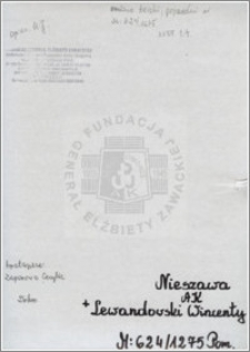 Lewandowski Wincenty
