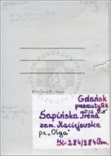 Sapińska Irena