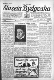 Gazeta Bydgoska 1926.11.14 R.5 nr 263