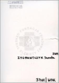 Zygmuntczyk Danuta