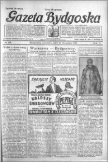 Gazeta Bydgoska 1926.11.21 R.5 nr 269