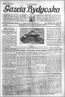Gazeta Bydgoska 1926.11.26 R.5 nr 273