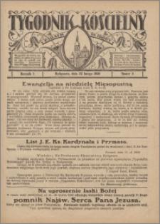 Tygodnik Kościelny Parafii św. Trójcy 1930.02.23 nr 8