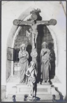 [Toruń, tęczowy krucyfiks z Bazyliki katedralnej św. Jana Chrzciciela i św. Jana Ewangelisty]