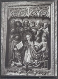 [Toruń, ołtarz Zaśnięcia NMP z kaplicy Kopernika Bazyliki katedralnej św. Jana Chrzciciela i św. Jana Ewangelisty]