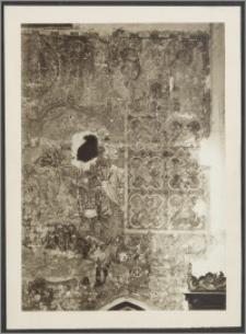[Toruń, fragment malowidła z Ukrzyżowaniem i Sądem Ostatecznym z Bazyliki katedralnej św. Jana Chrzciciela i św. Jana Ewangelisty]