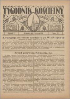 Tygodnik Kościelny Parafii św. Trójcy 1930.06.01 nr 22
