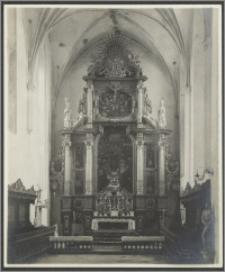 [Toruń, ołtarz główny w Bazylice katedralnej św. Jana Chrzciciela i św. Jana Ewangelisty]