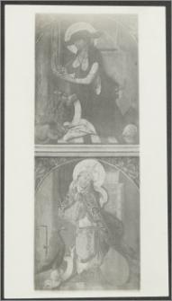 [Toruń, skrzydło lewe i prawe tryptyku św. Wolfganga z Bazyliki katedralnej św. Jana Chrzciciela i św. Jana Ewangelisty]