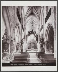 Thorn, Jakobskirche : Inneres nach O.