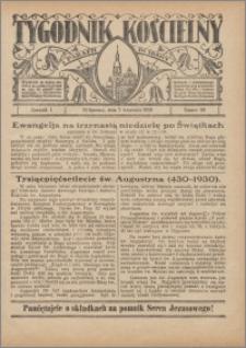 Tygodnik Kościelny Parafii św. Trójcy 1930.09.07 nr 36