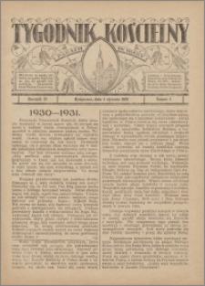 Tygodnik Kościelny Parafii św. Trójcy 1931.01.04 nr 1
