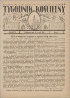 Tygodnik Kościelny Parafii św. Trójcy 1931.01.25 nr 4