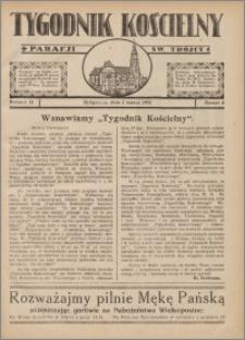 Tygodnik Kościelny Parafii św. Trójcy 1931.03.01 nr 6