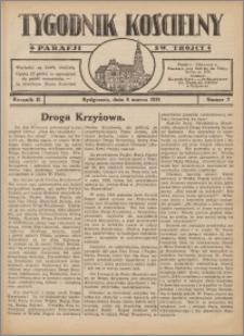 Tygodnik Kościelny Parafii św. Trójcy 1931.03.08 nr 7