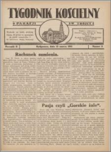 Tygodnik Kościelny Parafii św. Trójcy 1931.03.15 nr 8