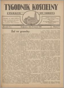 Tygodnik Kościelny Parafii św. Trójcy 1931.03.22 nr 9