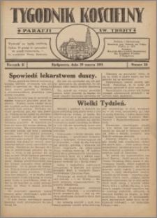 Tygodnik Kościelny Parafii św. Trójcy 1931.03.29 nr 10