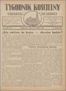 Tygodnik Kościelny Parafii św. Trójcy 1931.04.12 nr 12