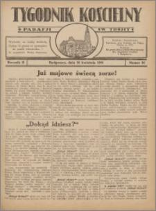 Tygodnik Kościelny Parafii św. Trójcy 1931.04.26 nr 14