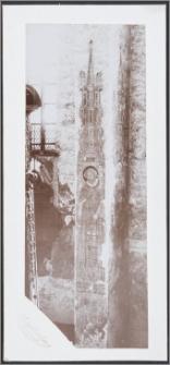 [Toruń, św. Wawrzyniec - malowidło ścienne z kościoła Wniebowzięcia Najświętszej Marii Panny i Bł. ks. Stefana W. Frelichowskiego]