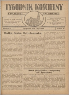 Tygodnik Kościelny Parafii św. Trójcy 1931.07.05 nr 24