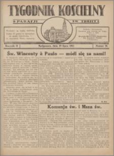 Tygodnik Kościelny Parafii św. Trójcy 1931.07.19 nr 26